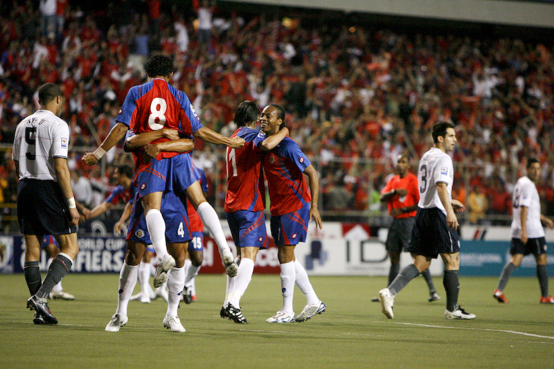 La celebración del segundo Gol. The celebration of the second Gol.