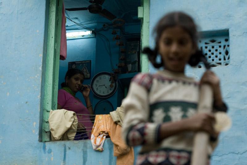 Scene at Paharganj, Old Delhi. Escena en Paharganj, Delhi Viejo.
