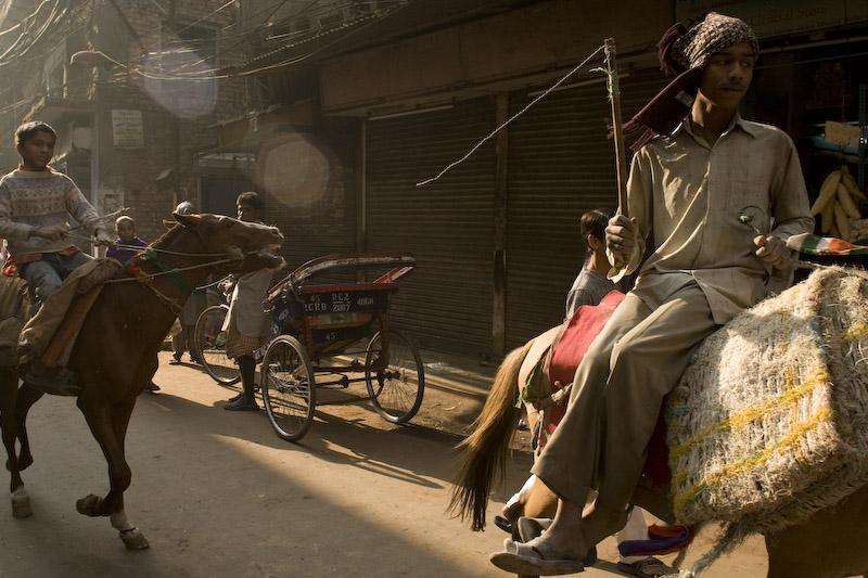 Old Delhi. Delhi Viejo.