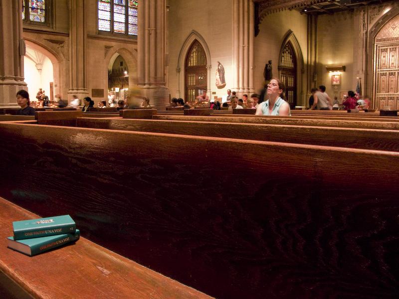 Saint Patrick's Cathedral. La Catedral de San Patricio. NYC
