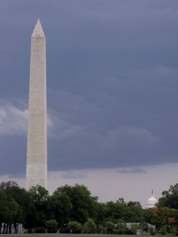 Washington Monument and The Capito, DC.